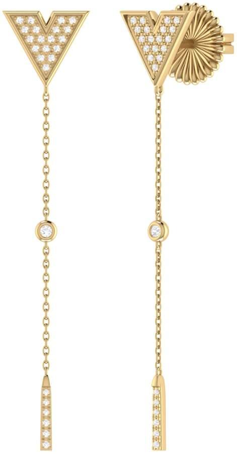 511e58de0 LMJ - Rise & Grind Earrings In 14 Kt Yellow Gold Vermeil On Sterling Silver