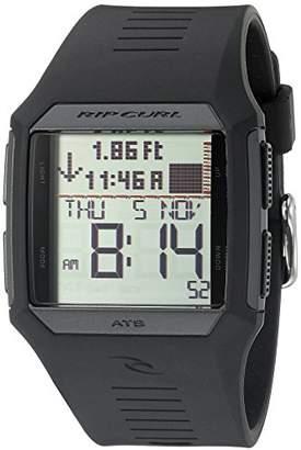 Rip Curl Men's A1119-BLK Rifles Tide Digital Display Quartz Watch