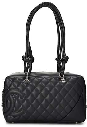 398230179716 Chanel Black Cambon Ligne Bowler