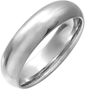 Theia Cobalt Court Highly Polished 6mm Wedding ring for Men or Women - Size O
