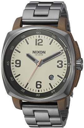 Nixon Men's 'Charger' Quartz Stainless Steel Casual Watch