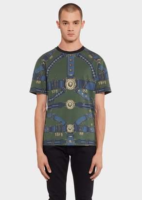 Versace Heritage Belt Print T-Shirt