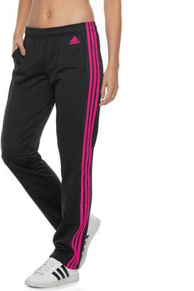 adidas Women's Designed 2 Move Midrise Striped Performance Pants