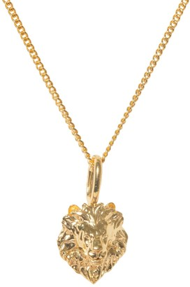 Katie Mullally Tusk Year Of The Lion Charm In Gold Plating