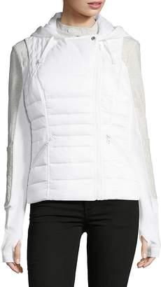 Blanc Noir Women's Three-In-One Packable Down Moto Jacket