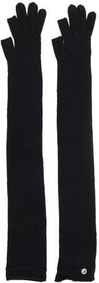 Rick Owens cable knit gloves