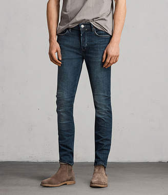 AllSaints Isotope Cigarette Skinny Jeans