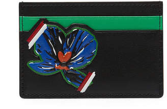 MCM Essential Card Case In Victory Flower