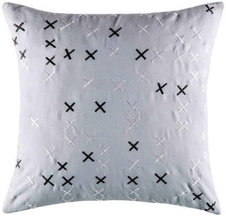 Kas Cross Square Cushion