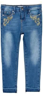 Jessica Simpson Embellished Jeans (Toddler Girls)