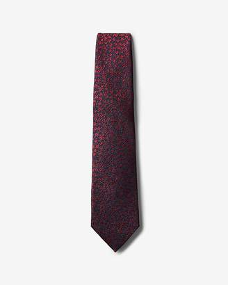 Express Narrow Floral Silk Tie