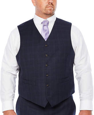 STAFFORD Stafford Woven Suit Vests Big and Tall