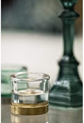 Winston Porter Glass Tealight Holder