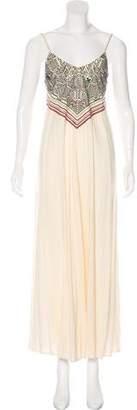 Mara Hoffman Swim Embroidered Maxi Dress