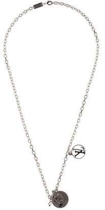 Louis Vuitton Traveller Stamp Necklace