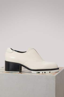 Jil Sander Low boots with contrast sole