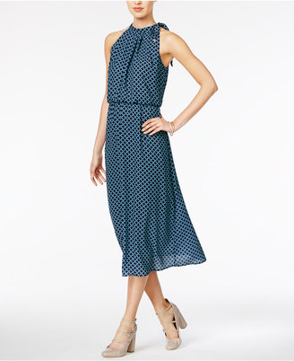 Maison Jules Side-Tie Midi Dress, Only at Macy's $79.50 thestylecure.com