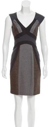 Rebecca Taylor Colorblock Shift Dress