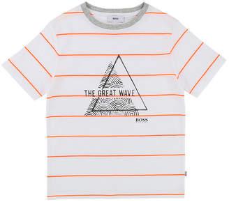 HUGO BOSS Kid The Great Wave T-Shirt