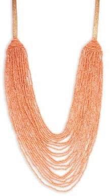 Lord & Taylor Design Lab Long Beaded Necklace