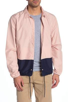 Herschel Voyage Colorblock Packable Coach Jacket