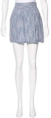Steven Alan Linen Mini Skirt