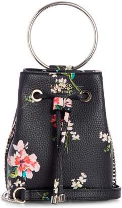 GUESS Mini Me Floral Bucket Bag