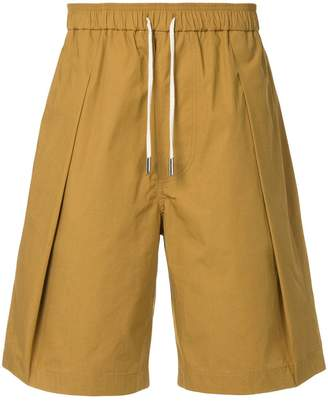 Cédric Charlier pleated detail shorts