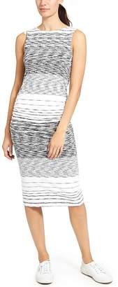 Athleta Stripe Midi Tank Dress