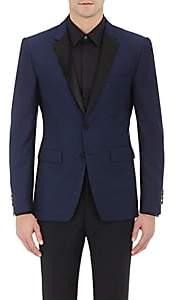 Barneys New York Burberry X Men's Stirling Wool-Mohair Tuxedo Jacket - Navy