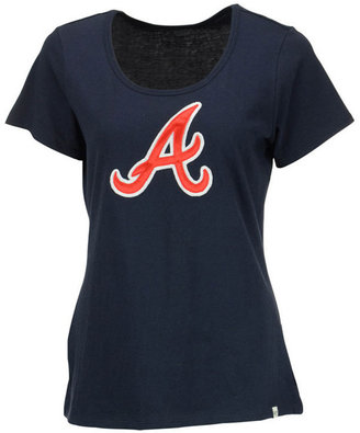 '47 Brand Women's Atlanta Braves Relaxed T-Shirt $40 thestylecure.com