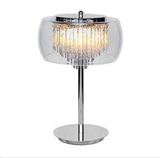 clear Table Lamp, Glass,