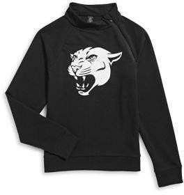 ASKYA Boy's Logo Cotton Sweatshirt