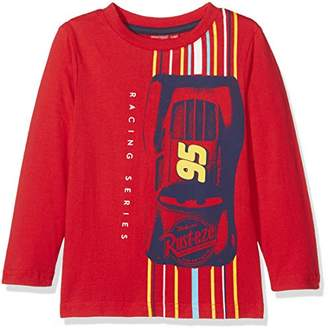 Leomil Fashion Boy's LS Longsleeve T-Shirt, RED, (Size: 6)