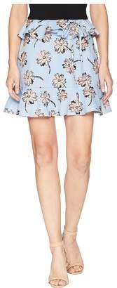 J.o.a. Ruffled Mini Skirt Women's Skirt