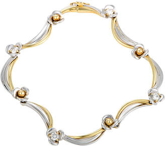 Damiani 18K Tri-Color 0.52 Ct. Tw. Diamond Bracelet