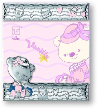 Silver Touch USA Sterling Silver Vanilla Bear Picture Frame
