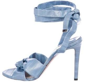 Altuzarra Eelskin Wrap-Around Sandals