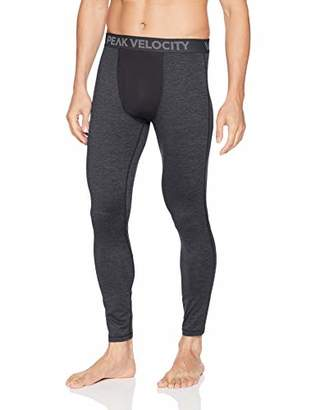 Peak Velocity Men's Thermal Cold-weather Athletic-Fit Tight