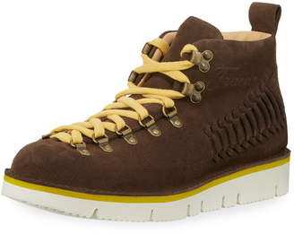 Fracap Geronimo Suede Lace-Up Boot