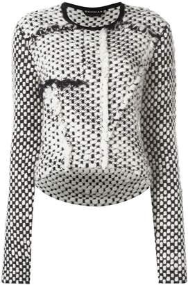 Rochas chunky knit jumper