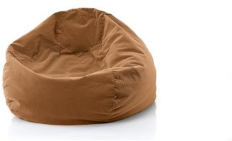 "Gold Medal Bean Bags GOLD MEDAL Bean Bag, Microsuede Corduroy, Large 128"" Toast"