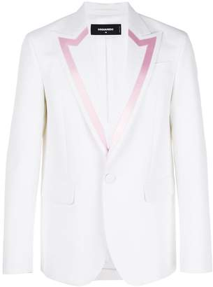 DSQUARED2 blazer with contrast trim