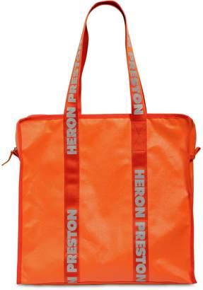 Heron Preston Tote Bag W/ Logo Handles