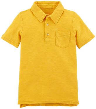 Carter's Short Sleeve Knit Polo T-Shirt - Preschool Boys