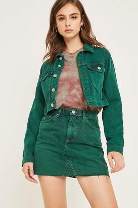 Urban Outfitters Austin Notched Mini Skirt