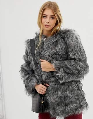 Raga Kora faux fur coat