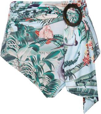 PatBO Eden Belted Bikini Bottom Size: S