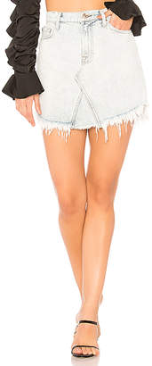 7 For All Mankind Scallop Skirt