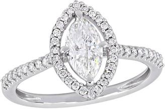 Affinity Diamond Jewelry Affinity 9/10 cttw Diamond Marquise Engagement Ring, 14K